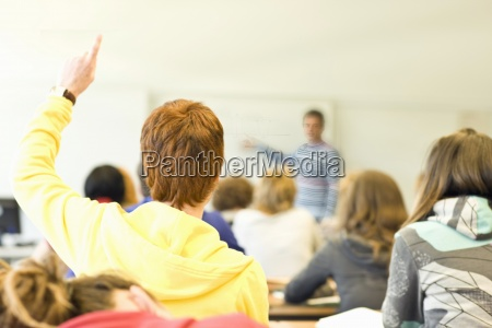 carrera profesor educacion trabajo horizontalmente vista