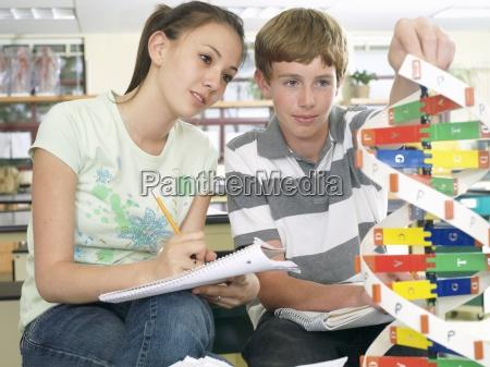 teenage boy and girl 15 17