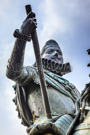 king philip iii equestrian statue plaza