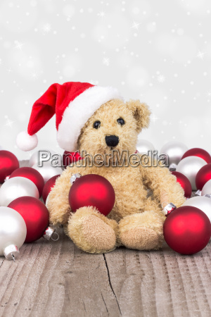 teddy bear balls christmas kogeln