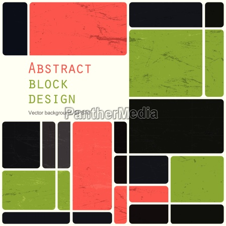 abstract retro blocks design background colorful