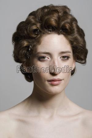 frau frauen mode farbe weiblich portrait
