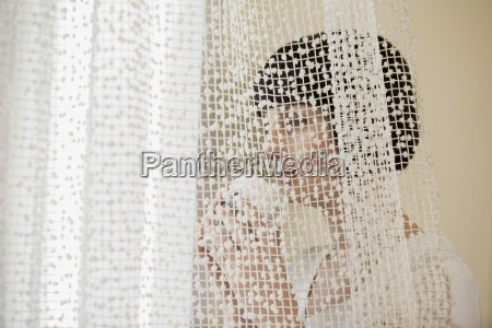 horizontal color photography one person young