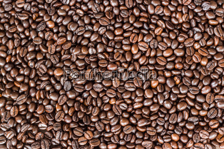 close up coffee beans