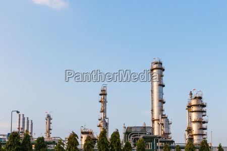 industry of oil petrochemical factory