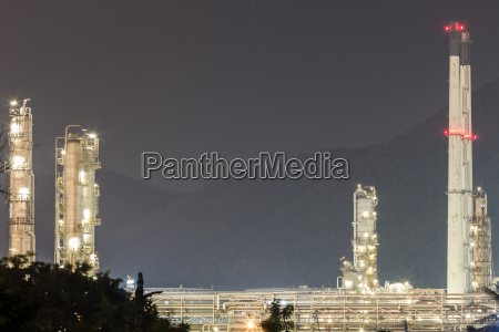 oil refinery plant factory
