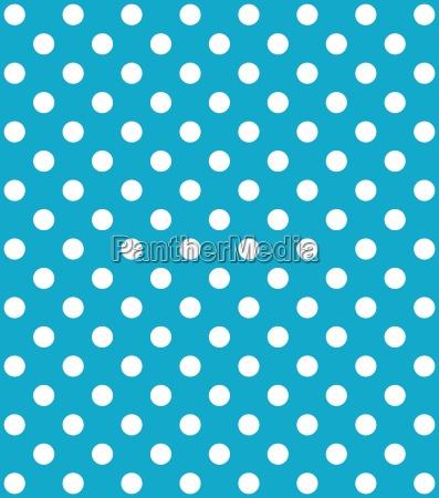 dot pattern turquoise white