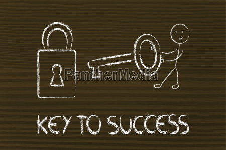 find the key to success funny