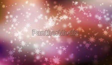 christmas stars card