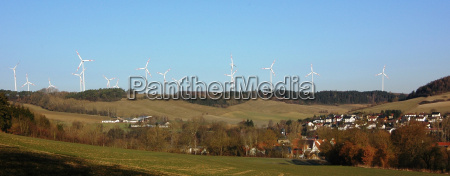 wind turbines from liebenau