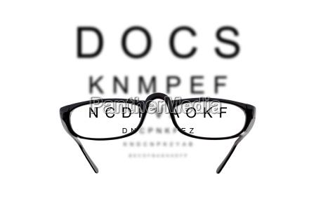 visual acuity test