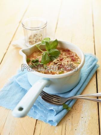 basil classic herbs copy space cuisine
