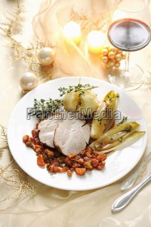 belgian endive chicory christmas christmas dish