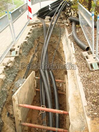 construction site fast internet