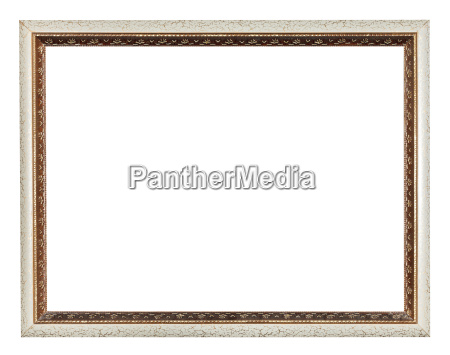 narrow modern wooden carved picture frame