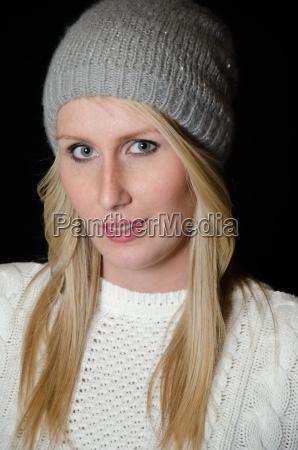 porttrait young woman