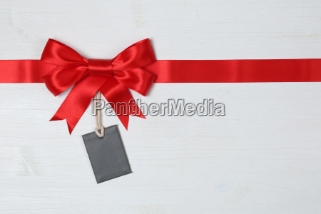 gift ribbon with bow with an