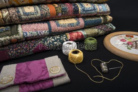 quilting equipment and fabrics