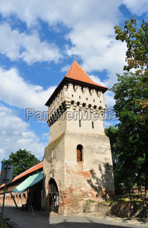 the potters tower sibiu