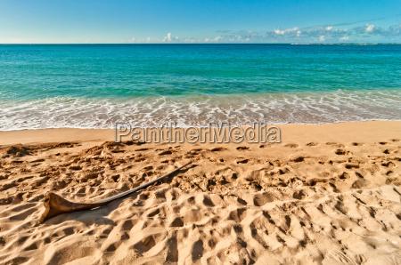 exotic haena beach in kauai island