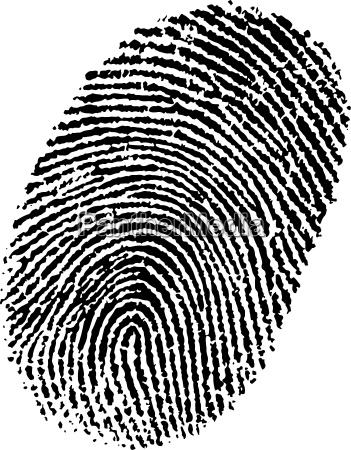 perfect ink fingerprint