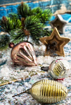 prepare decorations for new year holiday