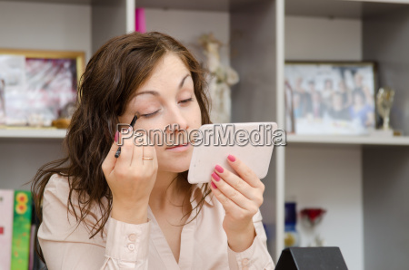employee of office preens in the