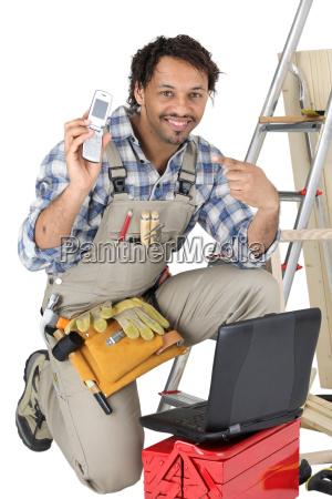 carpenter asking you to call him