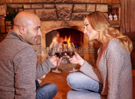 romantic christmas holiday