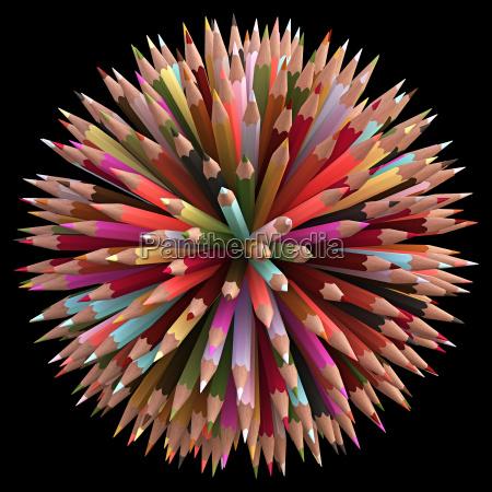 300 color pencils
