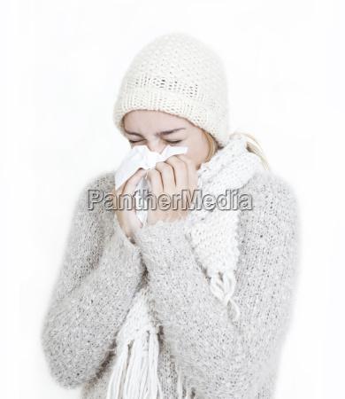 erkaeltung in winter