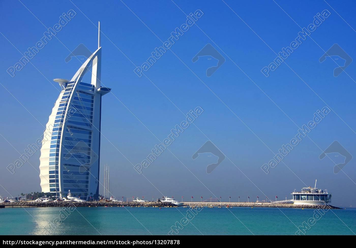 burj, al, arab, with, beach - 13207878