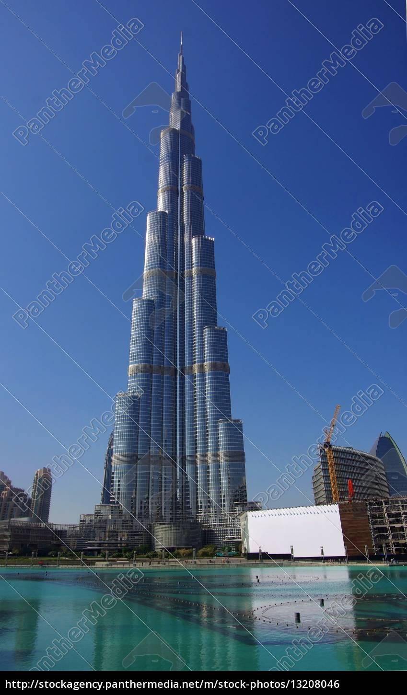 dubai, burj, khalifa, fontains - 13208046
