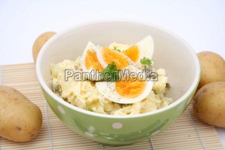comida pepino vegetal huevo yema de