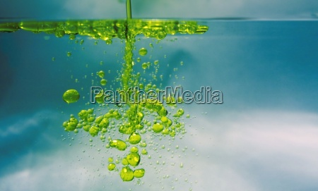 oil in water
