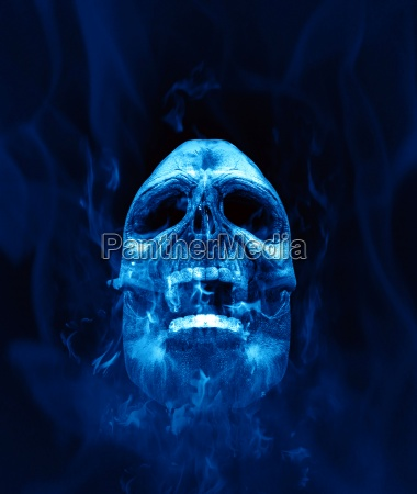 scull blue fire