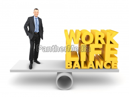 a balanced relationship between work and
