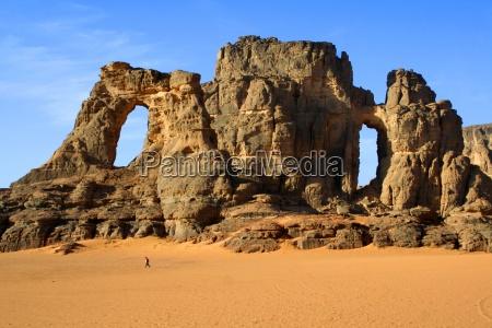 desert wasteland national park africa hike