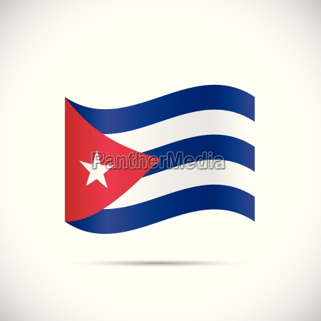 cuba flag illustration
