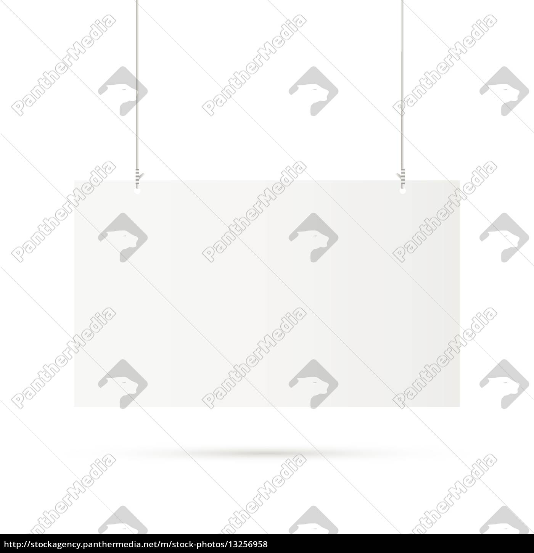 hanging, sign, illustration - 13256958