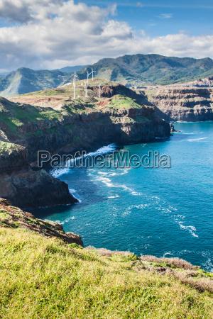 east coast of madeira island ponta