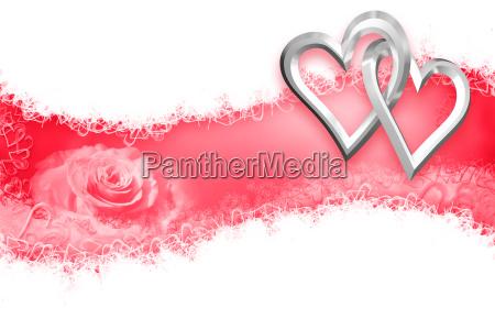 valentines day wedding heart