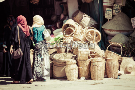 traditional moroccan market