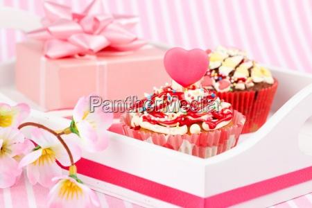 birthday valentine cake