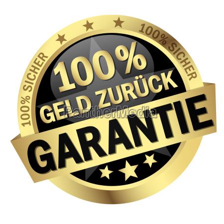 button 100 money back guarantee