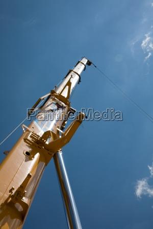 tower mobile cranes high pressure area