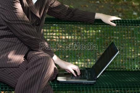 woman laptop notebook computers computer career