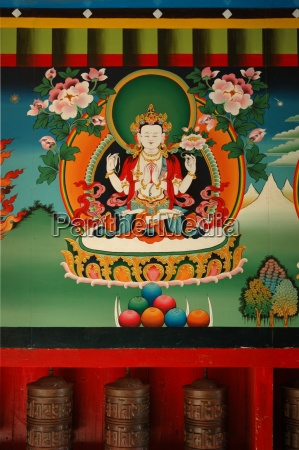 buddhist painting in the himalayas