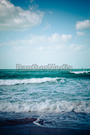 empty sea beach