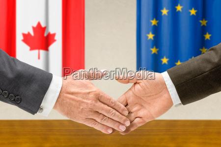 representatives of canada and the eu